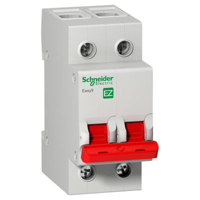 Schneider Easy9 63A Double Pole Switch Disconnector