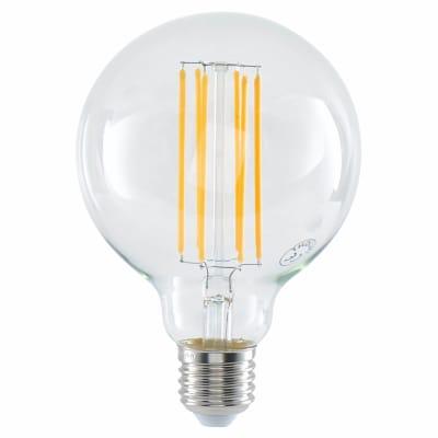 6W LED Vintage Large G95 Globe - E27 - Clear