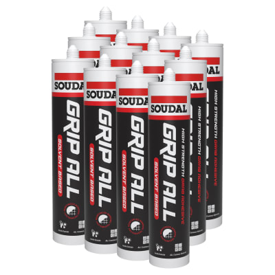 GRIPALL Solvent Based Grab Adhesive - 290ml - Pack 12