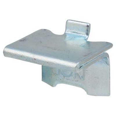 Altro Heavy Duty Raised Bookcase Clip - Bright Zinc Plated - Pack 10