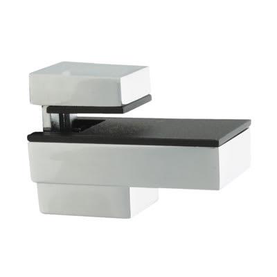 Altro Decorative Shelf Support Bracket - 6-12mm Shelf Thickness - Polished Chrome