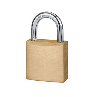 Squire Solid Brass Padlock - 20mm - Keyed Alike Key No 2