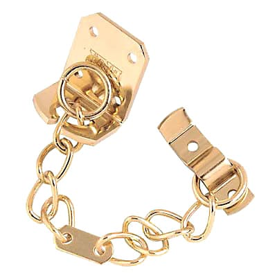 Touchpoint Standard Door Chain - Brass Plated