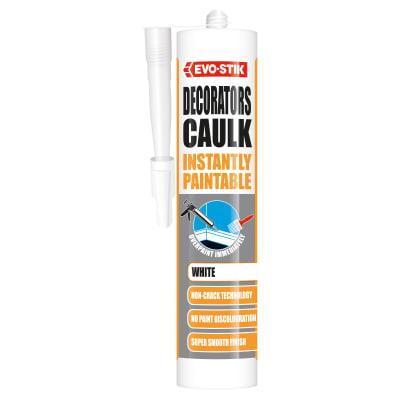 Evo-Stik Instantly Paintable Decorators Caulk 310ml