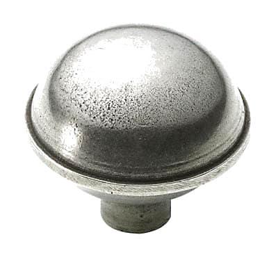 Finesse Rim Cabinet Knob - 47mm - Pewter