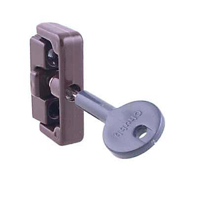 Yale 8K101 Wooden Window Lock - Brown