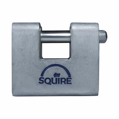 Squire Armoured Steel Shutter Lock - 60mm - Keyed Alike