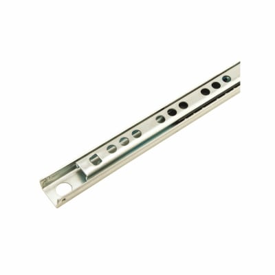Klug 17mm Ball Bearing Drawer Runner - Single Extension - 182mm - Zinc