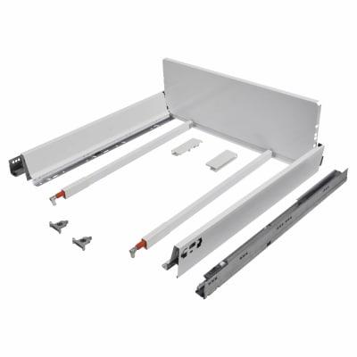 Blum TANDEMBOX ANTARO Pan Drawer - BLUMOTION Soft Close - (H) 203mm x (D) 550mm x (W) 600mm - White
