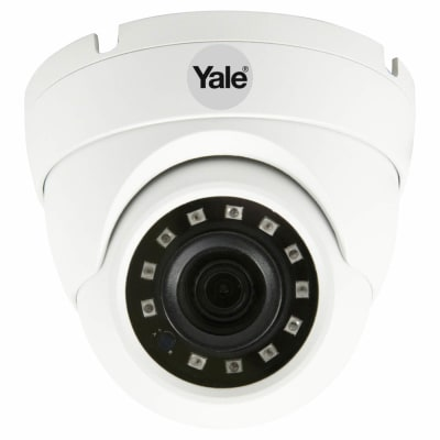 Yale Smart Home CCTV Dome Outdoor Camera - Wired - HD1080p SV-ADFX-W