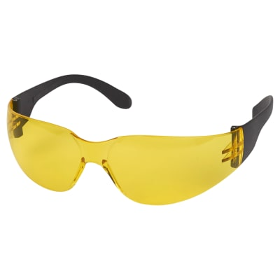 Blackrock Safety Spectacle With Anti-Scratch Lens - EN166 - Amber