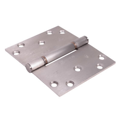 Royde & Tucker (H102-B) Triple Knuckle Projection Hinge -100 x 124 x 3mm-Satin Stainless Steel-Pair