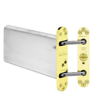 Powermatic R100 Hydraulic Concealed Door Closer - Brass