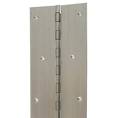 Altro Piano Hinge - 1800 x 25.4 x 1mm - Satin Stainless Steel