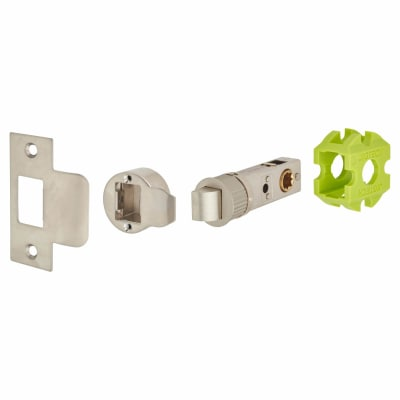 Jigtech Smartlatch Passage Latch - 57mm Backset - Satin Nickel