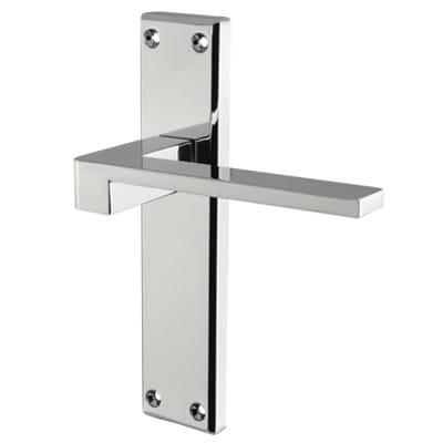 Carlisle Brass Equi Latch Door Handle - Polished Chrome