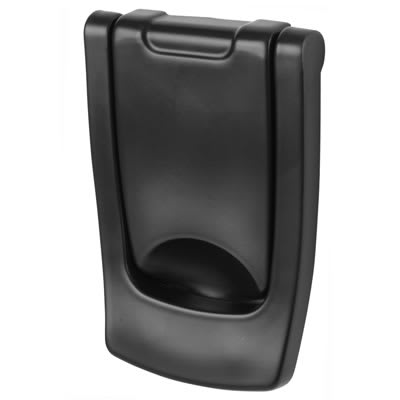 Hoppe Designer Door Knocker - 110 x 74mm - Black