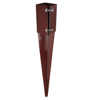 Powapost Drive-In Fence Post Spike - Twin Bolt - 75mm
