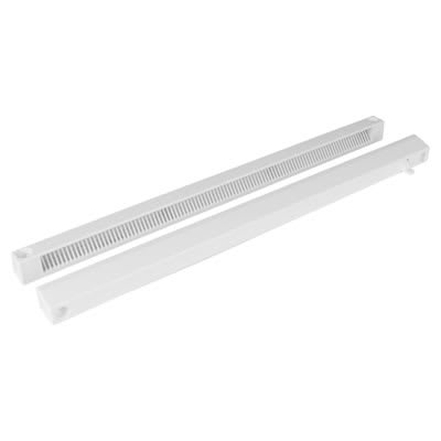 Greenwood Slotvent 4000 S With Front Operation Switch - White - uPVC / Timber