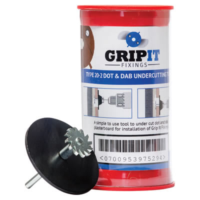 Grip It Dot and Dab Undercutting Tool Kit - Brown - 20mm