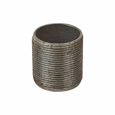 Deta Steel Conduit Nipples - 32mm - Galvanised - Pack 10