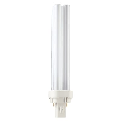 Philips Master 26W PL-C G24-D3 2 Pin Double Compact Fluorescent Lamp - 3000K