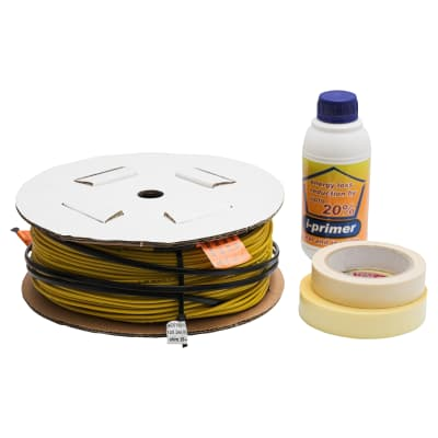 Heat Mat 800W Undertile Heating Cable With Thermal Primer - 3mm