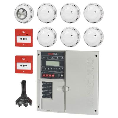 ESP 4 Zone 2 Wire Fire Panel Kit - White