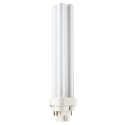 Philips Master 26W PL-C G24-Q3 4 Pin Dimmable Double Compact Fluorescent Lamp - 3000K