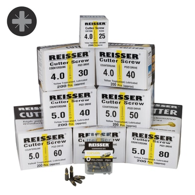 Reisser Cutter Trade Pack - Pack 1600