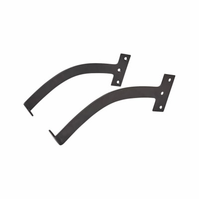Iron Quadrant Arm Stay - 200mm - Black