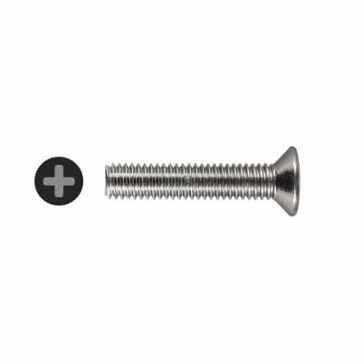 Machine Screw - Countersunk Head - M6 x 30mm - Pack 25