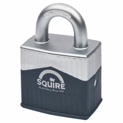 Squire Warrior Open Shackle Padlock - 55mm