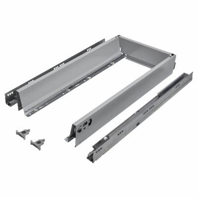 Blum TANDEMBOX ANTARO Drawer Pack - BLUMOTION Soft Close - (H) 84mm x (D) 650mm x (W) 400mm - Grey