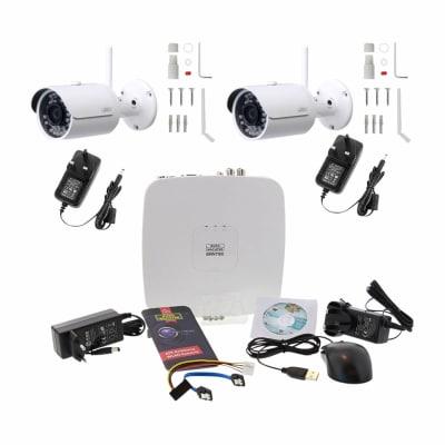 Burg Wachter BURGcam - 2 Wi-Fi Bullet Camera CCTV Kit - 1TB