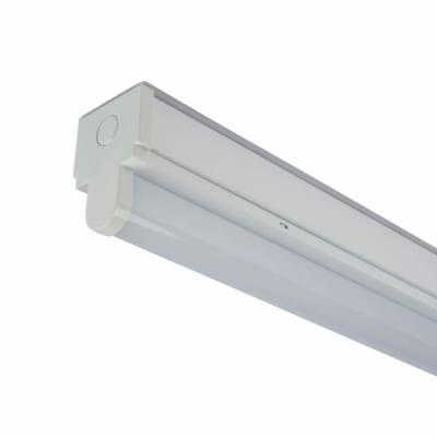 20W LED Batten - 4ft/1200mm - Cool White - White