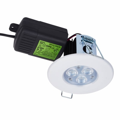 Halers H2 PRO550 LED 70° Downlight - Dimmable - IP65 - Warm White