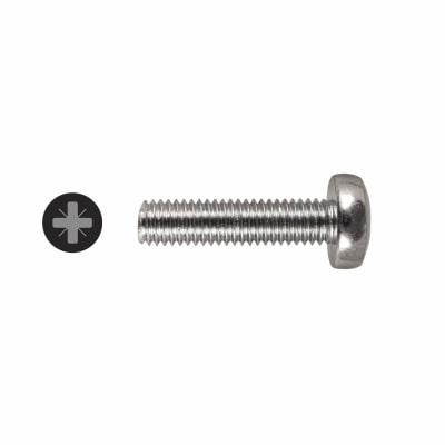 Machine Screw - Pan Head - M5 x 20mm - Pack 25