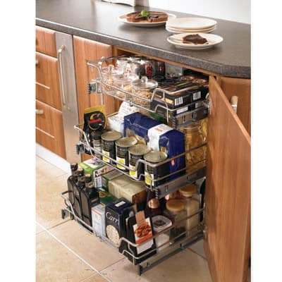Individual Pull Out Organiser - Cabinet Width 450mm