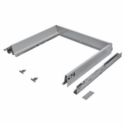 Blum TANDEMBOX ANTARO Drawer Pack - BLUMOTION Soft Close - (H) 84mm x (D) 500mm x (W) 600mm - Grey