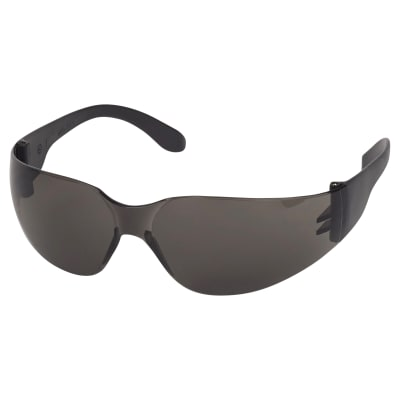 Blackrock Safety Spectacle With Anti-Scratch Lens - EN166 - Smoke