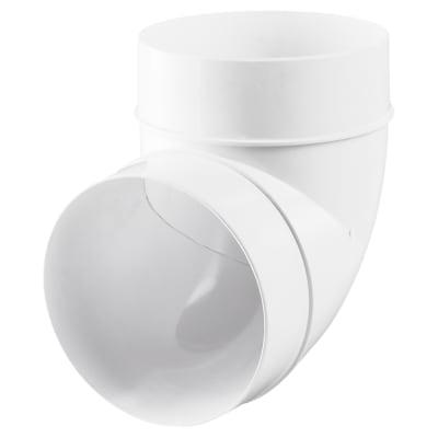 Blauberg Plastic Circular 90 Degree Bend - 125mm