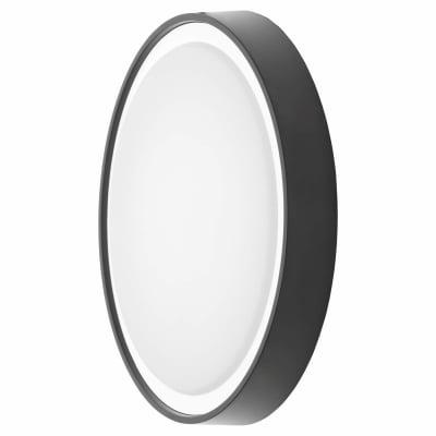 Forum Ripon LED Round Flush Light - 310mm - Black