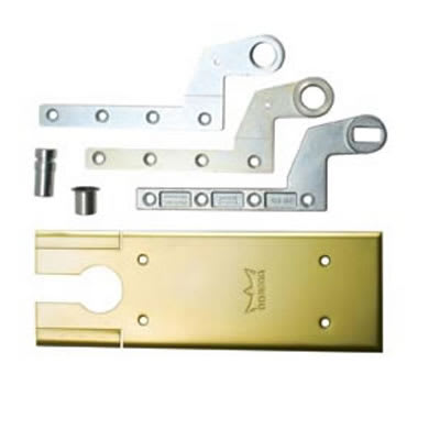 DORMA BTS80 Accessory Pack - Single Action - Polished Brass