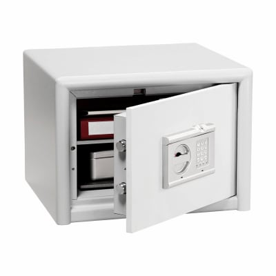 Burg Wachter CL 20 E FS Combi-Line Electronic Biometric Fire Safe - 360 x 495 x 445mm - Light Grey