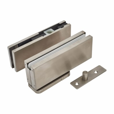 Rutland Hydraulic Glass Patch Door Closer - Non Hold Open