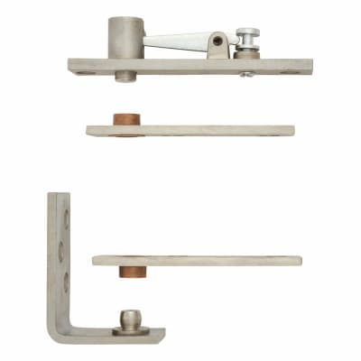 Cubicle Pivot Set - Stainless Steel