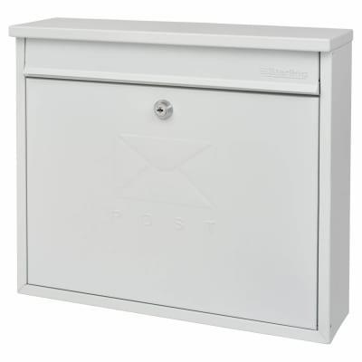 Burg Wachter Elegance Mailbox - 362 x 310 112mm - White
