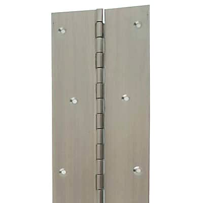 Altro Piano Hinge - 1800 x 50 x 1.2mm - Satin Stainless Steel