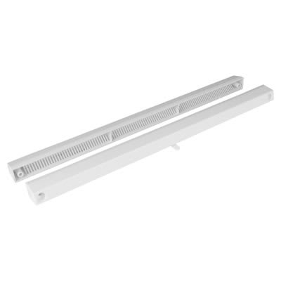 Greenwood Slotvent 4000 S With Bottom Operation Switch - White - uPVC / Timber